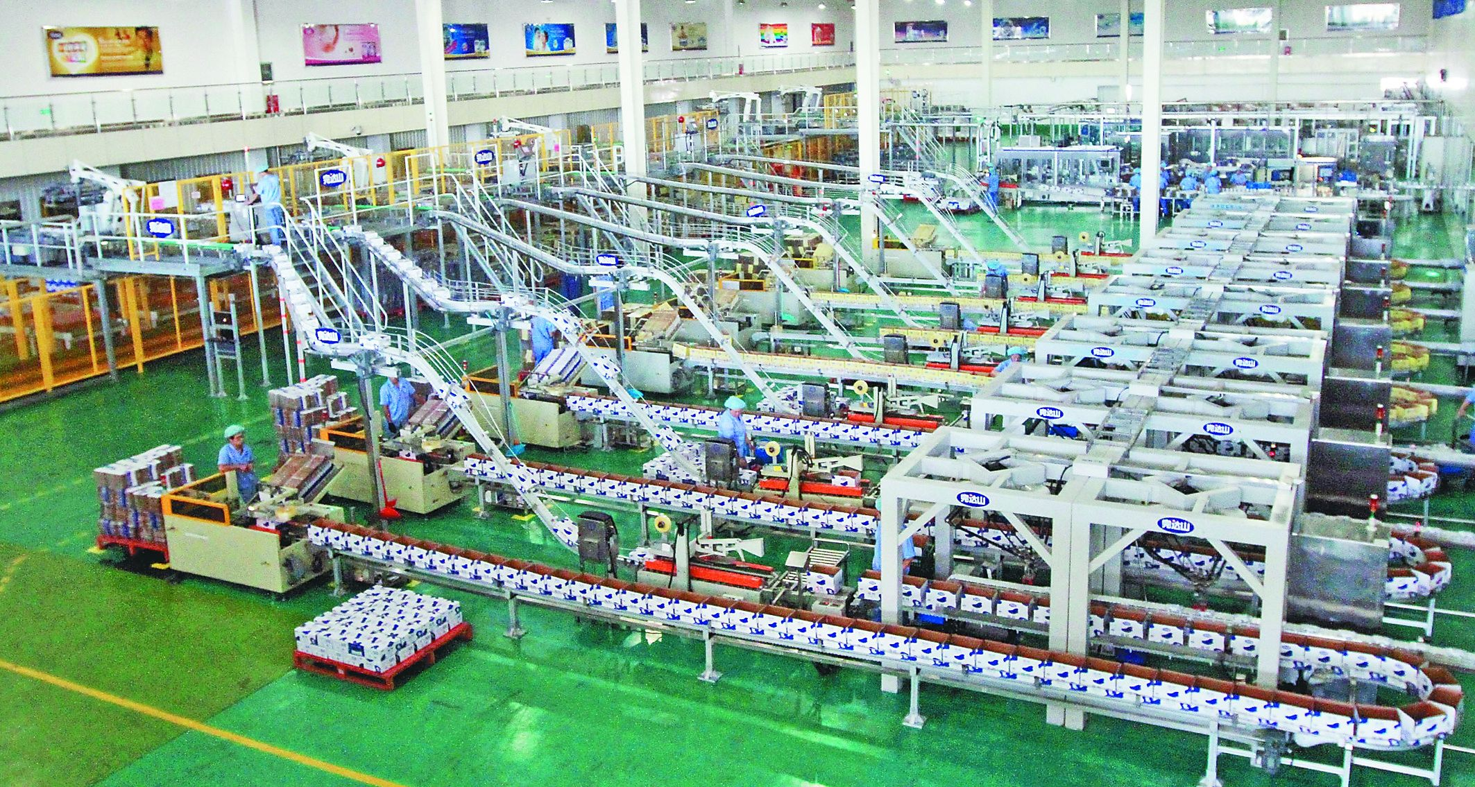 packaging equipment production line