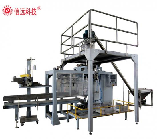 Big Bag Water Soluble Powder Fertilizer Automatic Packing Machine