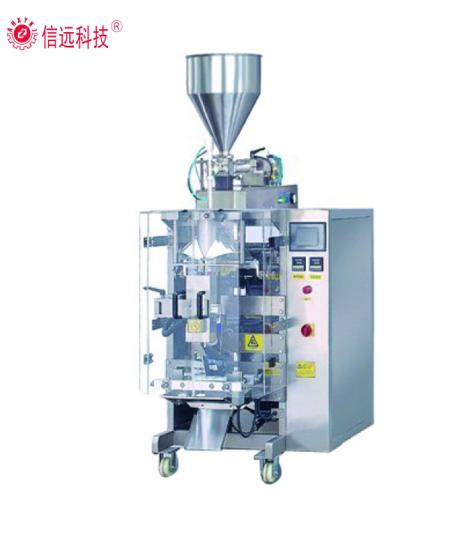 Vertical water liquid oil sauce pouch packing machine