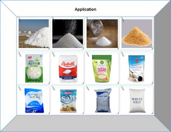VFFS Vertical salt sugar aginomoto packing machine