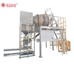 compound granular fertilizer packing line