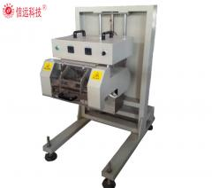 Folded bag heat sealing machine