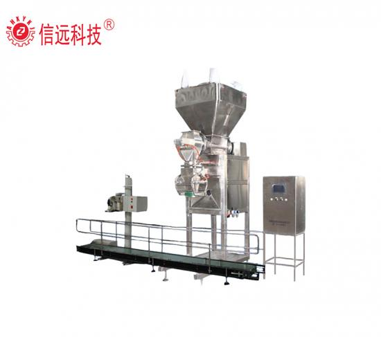 Water soluble fertilizer packing machine