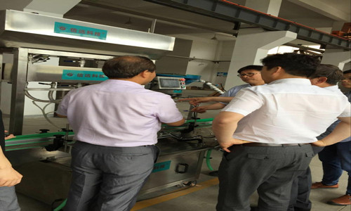 South Korea customer visit our factory